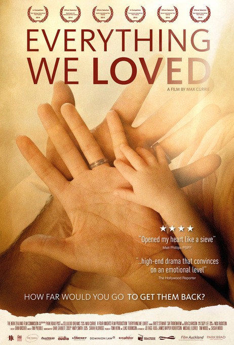Poster for Everything We Loved, the debut feature from writer/director Max Currie